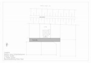 Einfamilienhaus in Geseke (Lageplan)